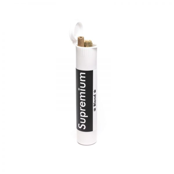 Wholesale Supremium pre roll joints in tubes, cannabis blend at wholesale for resellers