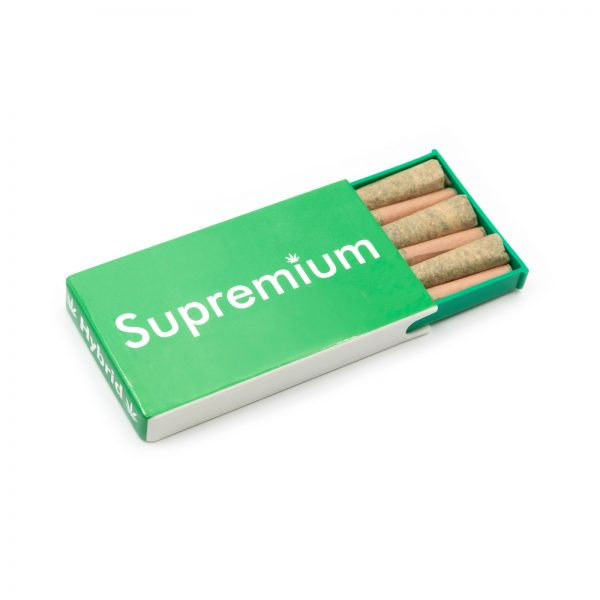 Wholesale Supremium hybrid pre rolled joints in packs, pre rolled cones, sativa at wholesale for online dispensaries