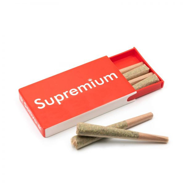 Supremium sativa pre rolled joints in packs, pre rolled sativa cones at online dispensaries